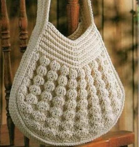 плетем сумки макраме.