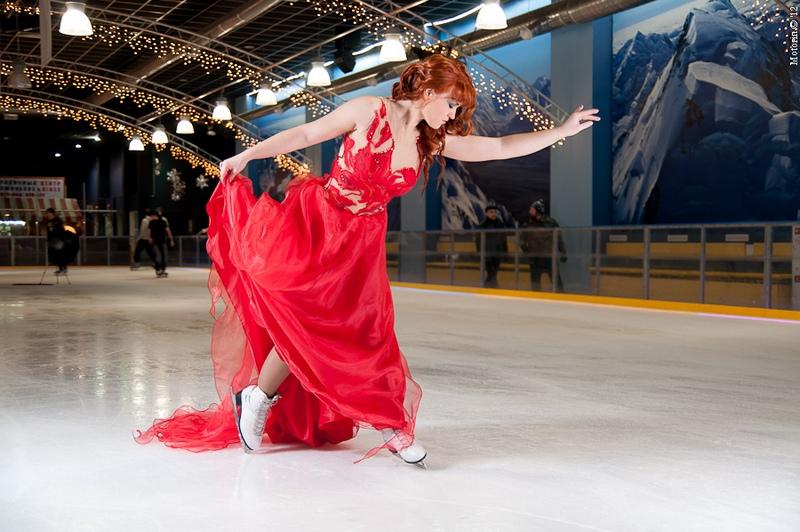 Вы просматриваете изображения у материала: ФОТОпробы. Лед и пламя. Backstage by Александр Моторин