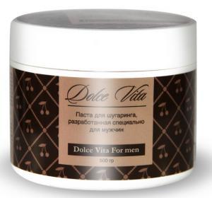 Dolce Vita For Men m Дольче Вита сахарная паста для эпиляции мужчин мини Ижевск
